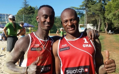 Ghanaians inspiring beach volleyball hope in Africa