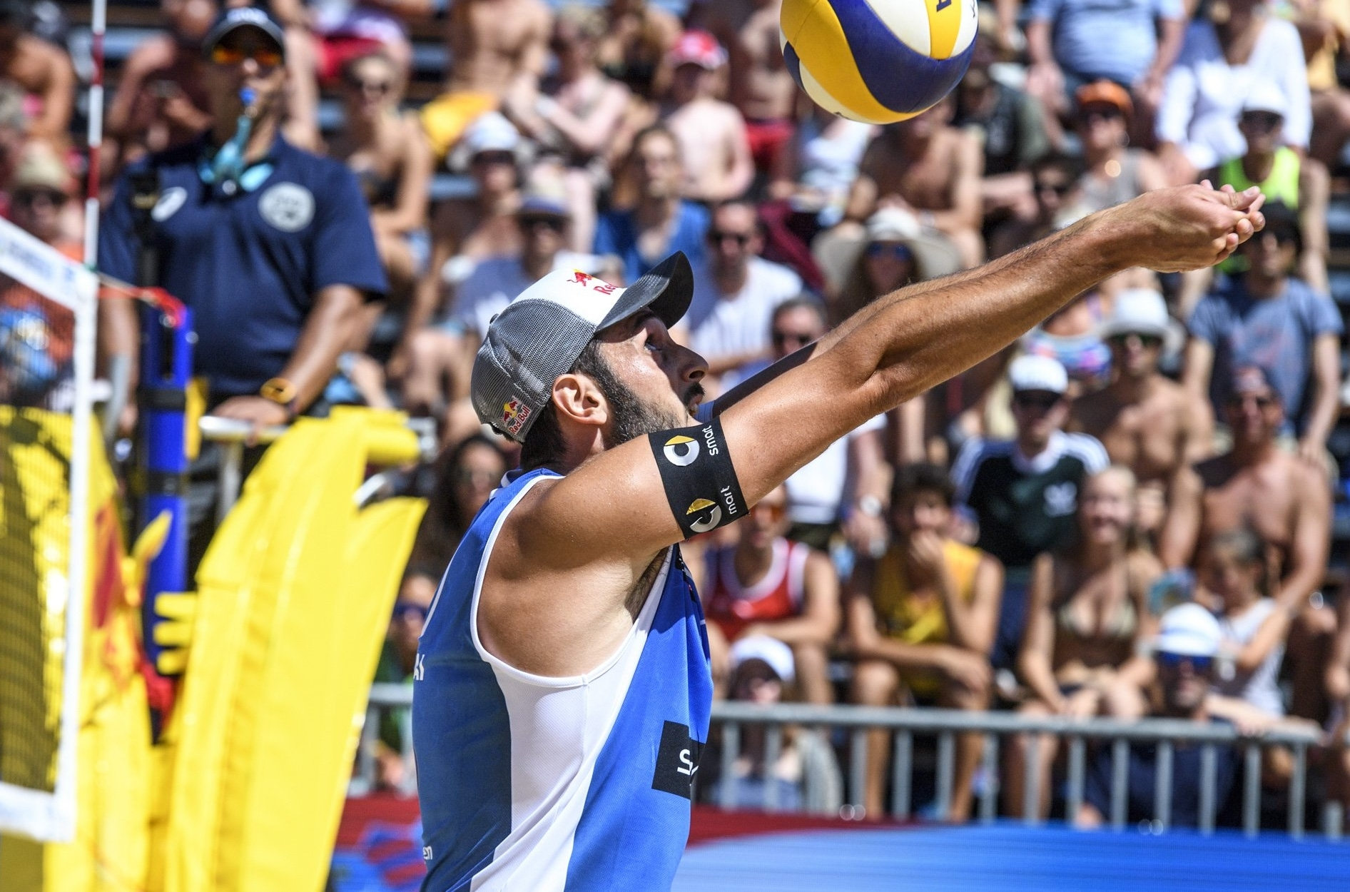 Pablo Nicolai and his partner Daniele Lupo are in the Poreč Major final