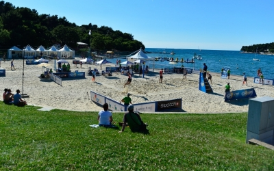Poreč Major: side courts like no other